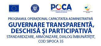 sigla Guvernarea transparentă, deschisă si participativa